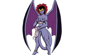 Famous Demona and gargoyles cartoon orgy