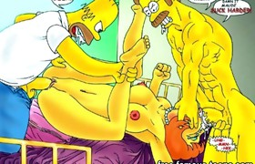 Famous cartoons family sex