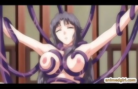 Bigboobs anime tittyfucked and facial cumshot