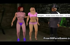 Kinky 3D toon babe getting screwed hard in the..