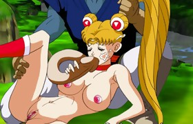 Sailor Moon orgy