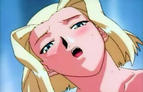Cute blonde feel the cock - anime hentai movie