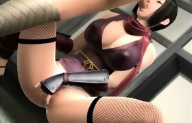 3D Breasty Girl Gives Titty Fuck!