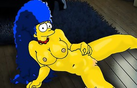 Simpsons anime orgy