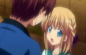 Anime cutie acquires caressed and drilled